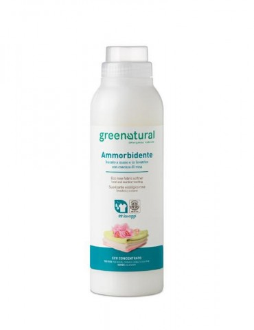 GREENATURAL – Eco Ammorbidente alla Rosa