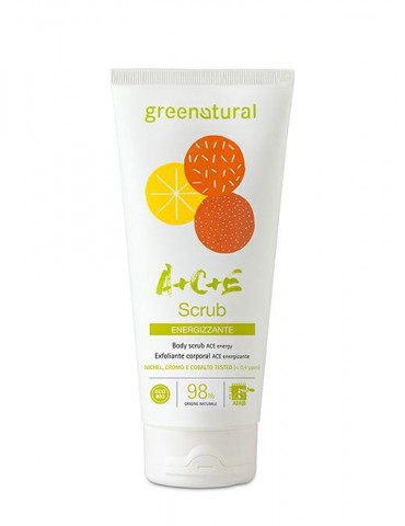 GREENATURAL – Scrub Corpo Multivitamine ACE