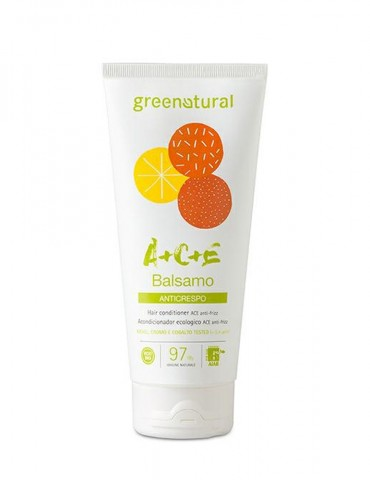 GREENATURAL – Balsamo Anti Crespo Multivitamine ACE