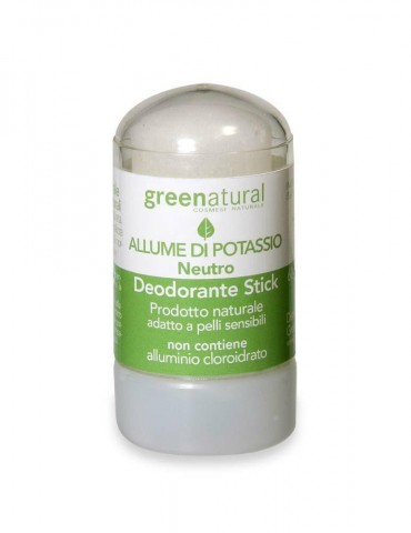 GREENATURAL – Deo Stick Allume di Potassio
